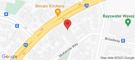 Location map for 144A Broun Avenue Embleton