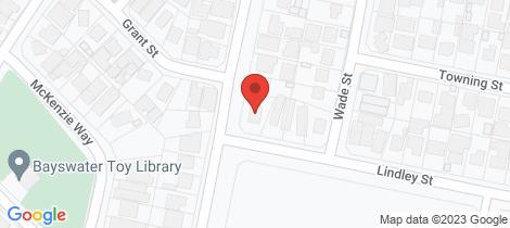 Location map for 1 Lindley Street Embleton