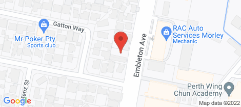 Location map for 31 Embleton Avenue Embleton
