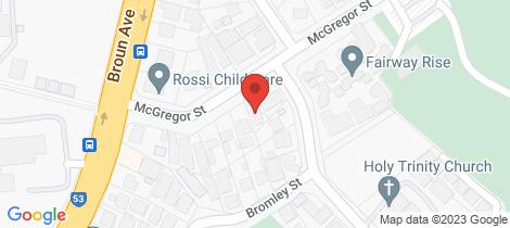 Location map for 31A McGregor Street Embleton