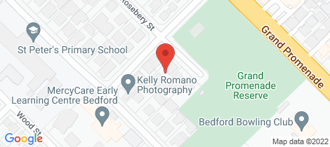 Location map for 161a Rosebery Street Bedford