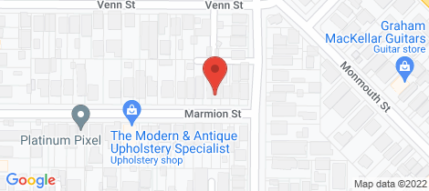 Location map for 8 Marmion Street North Perth