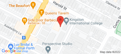 Location map for 43/131 Harold Street Highgate