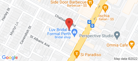 Location map for 3 Chatsworth Road Highgate