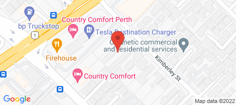 Location map for 3/12 Kimberley Street Belmont