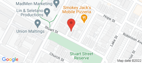 Location map for 24 Stuart Street Perth