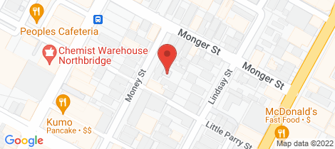 Location map for 2/34 Money Street Perth