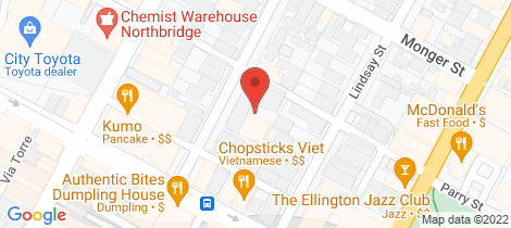 Location map for 22/14 Money Street Perth