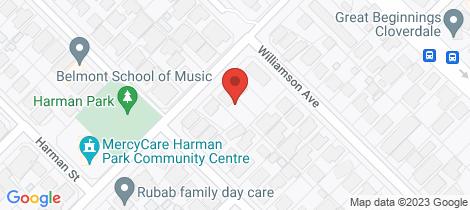 Location map for 336 Sydenham Street Cloverdale