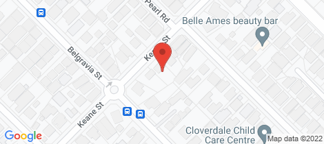 Location map for 192 Keane Street Cloverdale