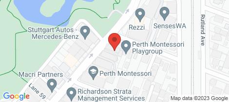 Location map for 6/162 Burswood Road Burswood