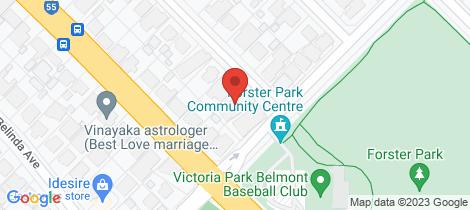 Location map for 30 Pontiac Avenue Cloverdale