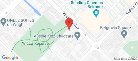 Location map for 238 Knutsford Avenue Kewdale