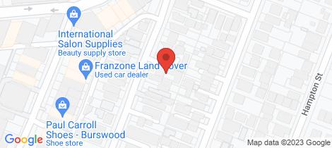 Location map for 3/48 Rushton Street Burswood