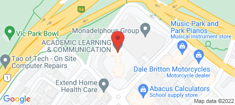 Location map for 33/8 Hordern Street Victoria Park