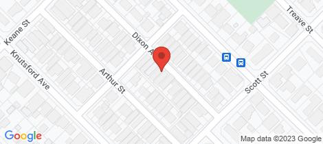 Location map for 28 Dixon Avenue Kewdale
