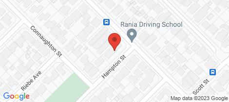 Location map for 29 Hampton Street Kewdale