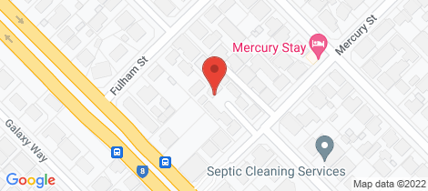 Location map for 2/85 Mercury Street Kewdale