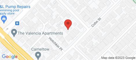 Location map for 85b Cohn Street Kewdale
