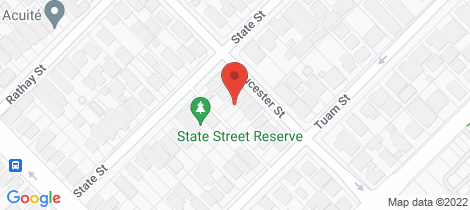 Location map for 227 Gloucester Street Victoria Park