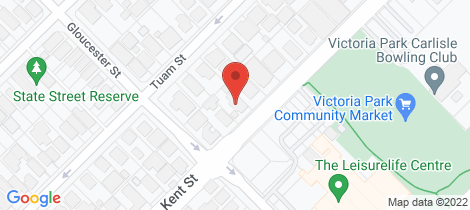 Location map for 35 Kent Street Victoria Park