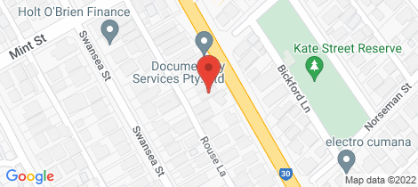 Location map for 271 Shepperton Road East Victoria Park