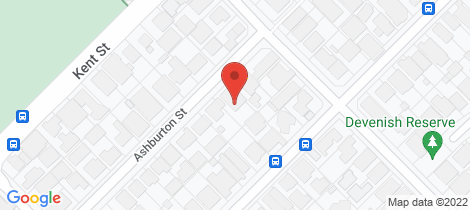 Location map for 82A Ashburton Street East Victoria Park
