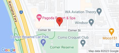 Location map for 27/4 Comer Street Como