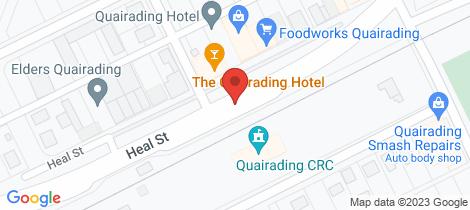 Location map for Lot 13954 MINCHIN ROAD Quairading
