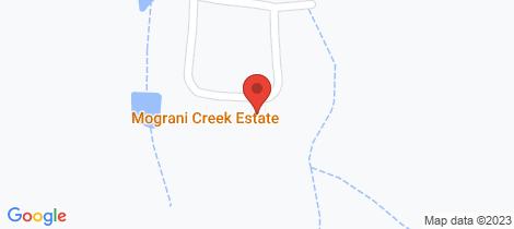 Location map for 450 Mograni Creek Road Mograni