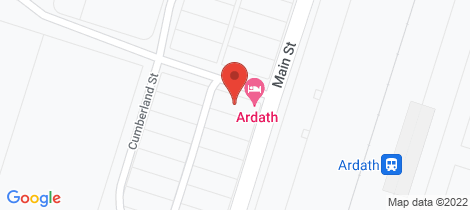Location map for 114-116 Main street, Ardath