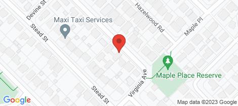 Location map for 47A Bertram Street Maddington