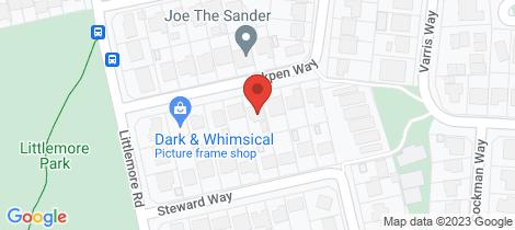 Location map for 37 INKPEN  WAY Orelia