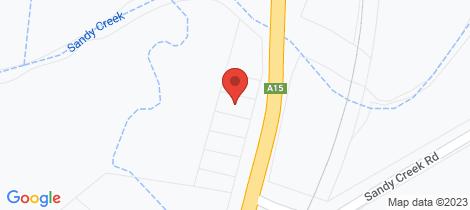 Location map for 80 Aberdeen Street Muswellbrook