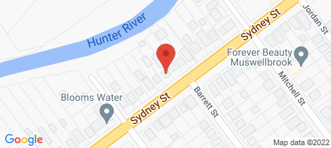 Location map for 95 Sydney Street Muswellbrook