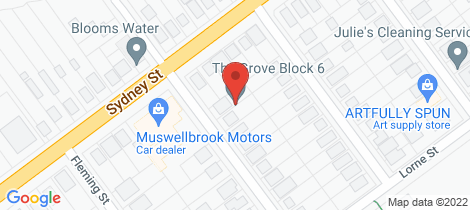 Location map for 5 Skellatar Street Muswellbrook