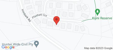 Location map for 7 Plashett Close Muswellbrook