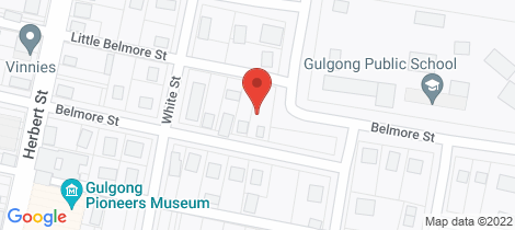 Location map for 68 Belmore Street Gulgong