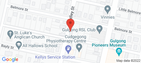 Location map for 89 Belmore Street Gulgong