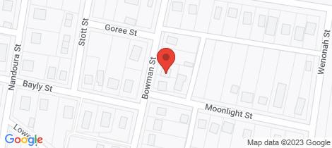 Location map for 5 Bowman Street Gulgong