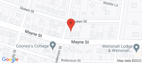 Location map for 46 Mayne Street Gulgong
