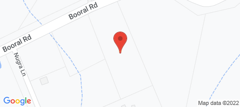 Location map for 1319 Booral Road Girvan