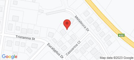 Location map for 19 Melaleuca Drive Wellington