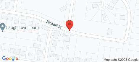 Location map for 35 Nicholii Street Wellington