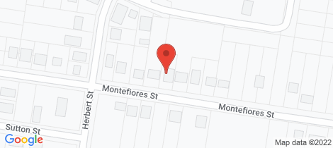 Location map for 70 Montefiores Street Wellington