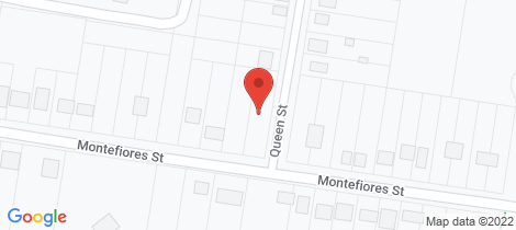 Location map for 48 Montefiores Street Wellington