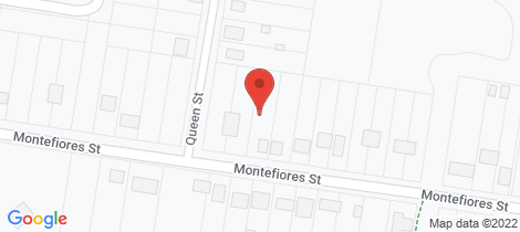 Location map for 42 Montefiores Street Wellington