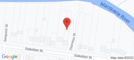 Location map for 116 Gobolion Street Wellington