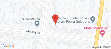 Location map for 24 Whiteley Street Wellington