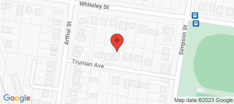 Location map for 6 Truman Avenue Wellington